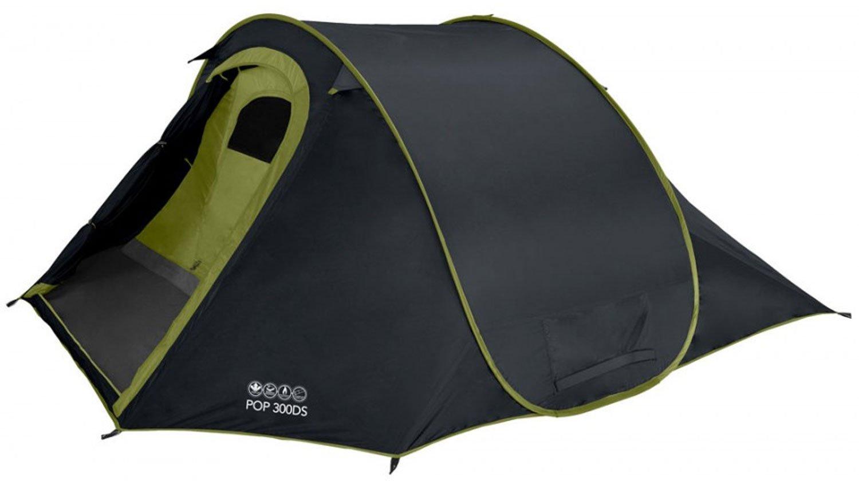 Vango Zelt Pop 300 DS 2-3 Personen PopUp Camping Wurfzelt Sekunden Automatikzelt