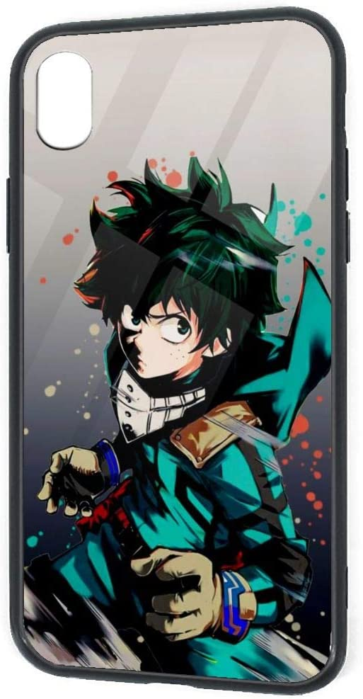 Amazon Com Custom Design Iphone Xr Case Heroaca Bnha Anime