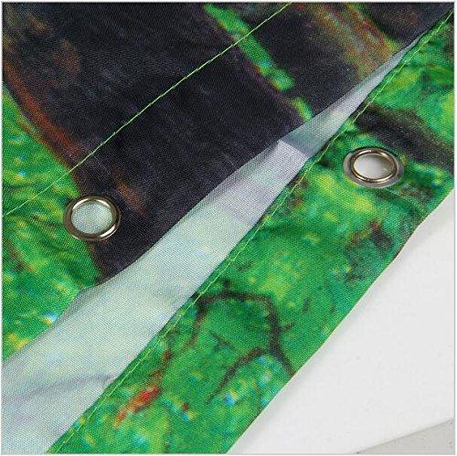 h w Shower Curtain Hot Sale Hot Air Balloon Waterproof Fabric Bathroom 66 x72 Inch
