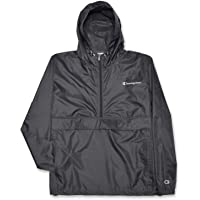 Champion Jacket Mens Big and Tall Hoodie Anorak Windbreaker Men Rain Jacket