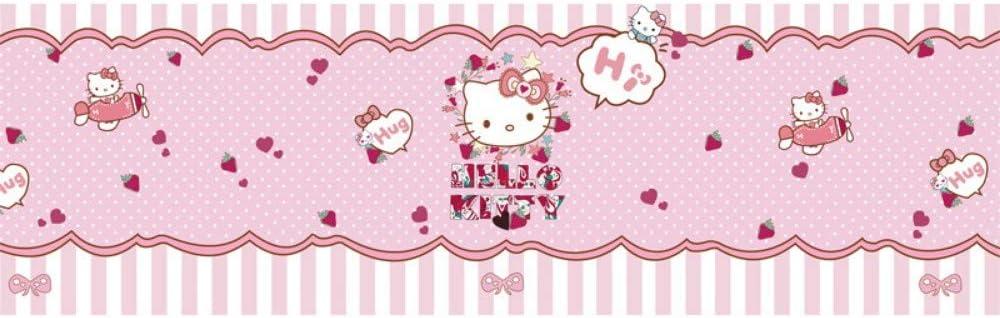 Letti Per Bambini Hello Kitty.Yusdk Carta Da Parati Per Bambini Hello Kitty Theme 3d Murale
