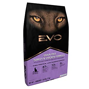 Evo Grain Free Turkey And Chicken Formula Cat And Kitten Food
