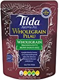 Tilda Steamed Basmati Wholegrain Pilau Rice  250 g (Pack of 6)