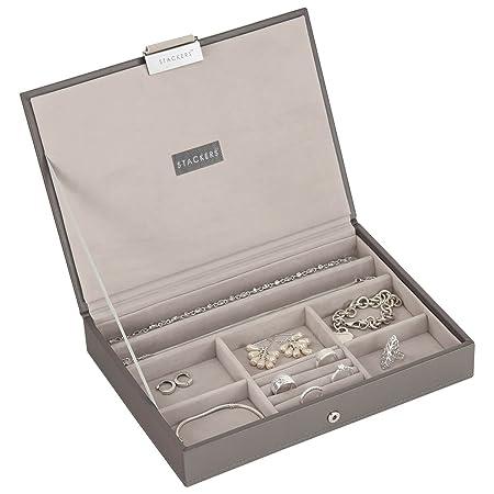 Stackers Mink Classic Jewellery Box Lid  Amazon.co.uk  Kitchen   Home b465b8516c