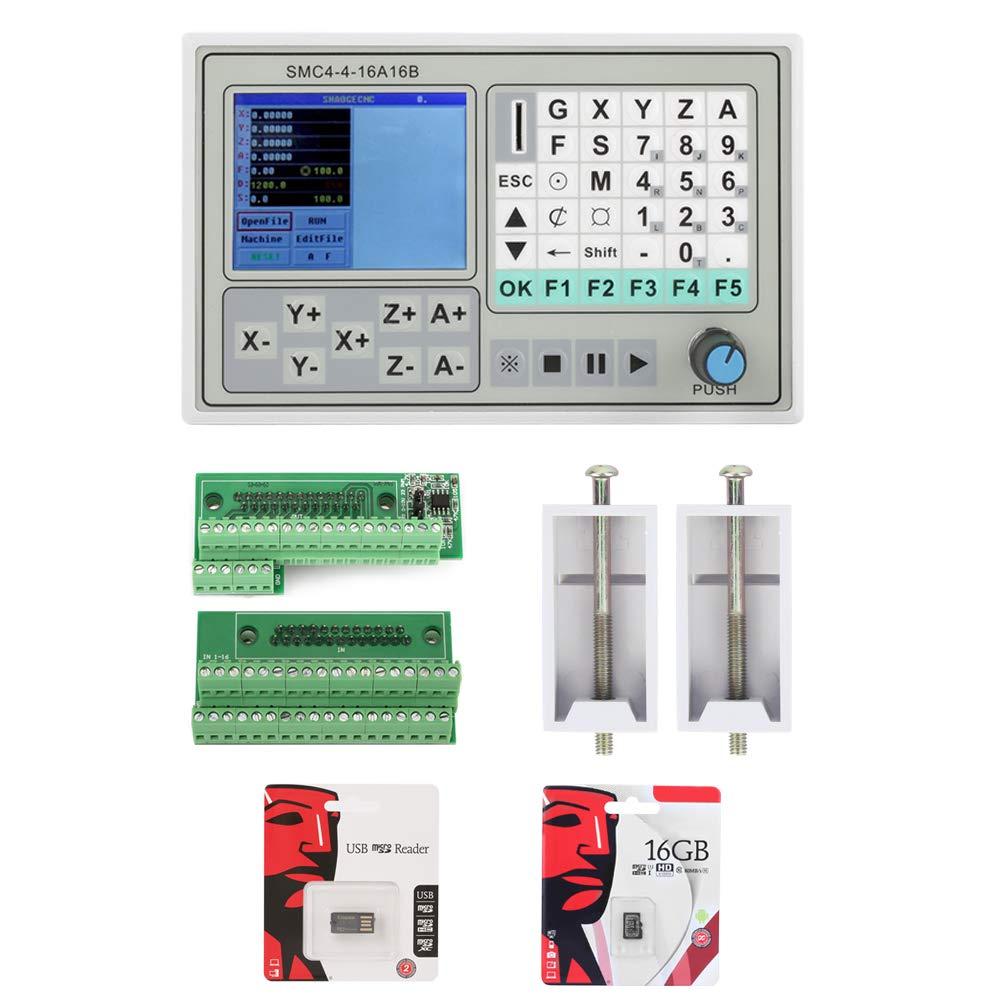 彫刻制御システム CNCモーションコントローラ4軸 SMC4-4-16A16Bモータドライバボードステッパモータドライバモータコントローラ   B07K6L787L