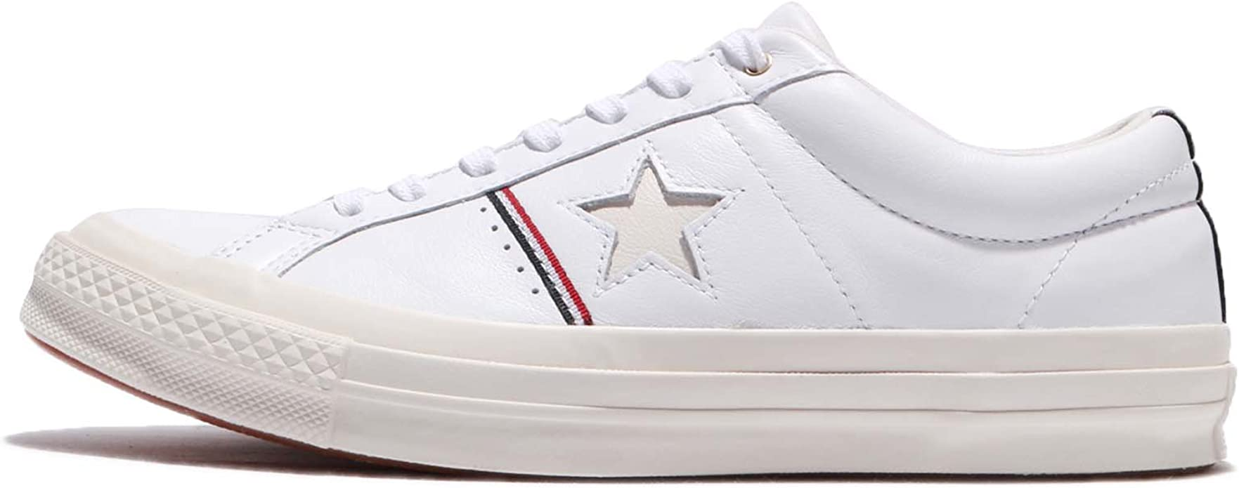 Converse One Star OX White/Enamel Red