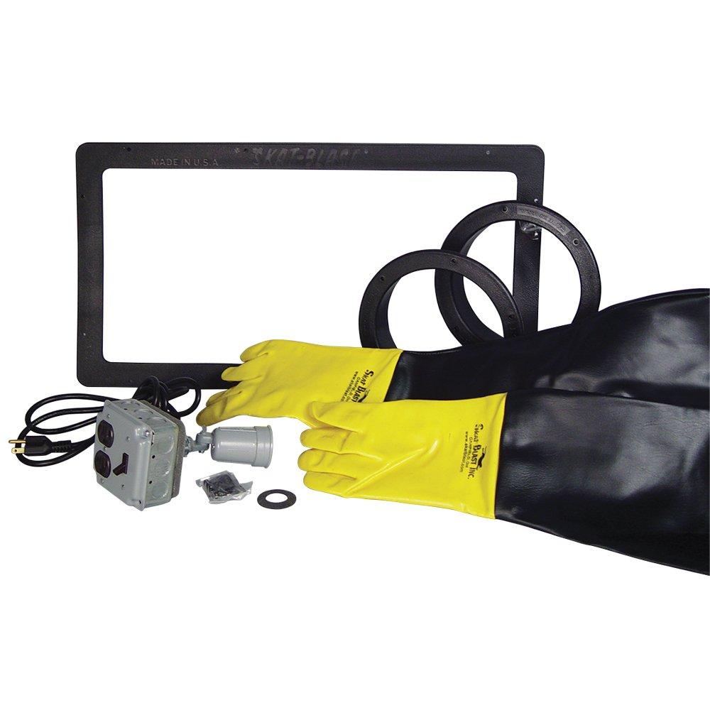Skat Blast Sandblast Cabinet Trim Package - 45'' X-Large Lens 6525-03