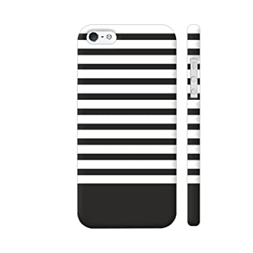 a5bc49f4a0c Colorpur Black Strips Printed Back Case Cover for  Amazon.in  Electronics