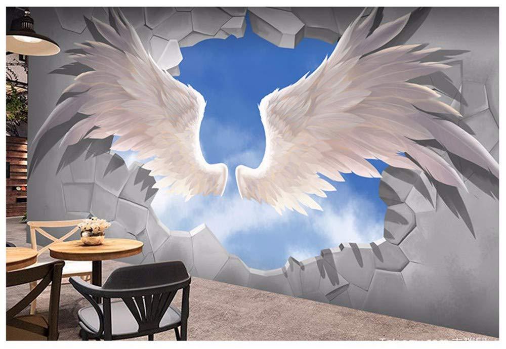 Amazon.com: Pegatinas de pared para dormitorio, 3D con alas ...