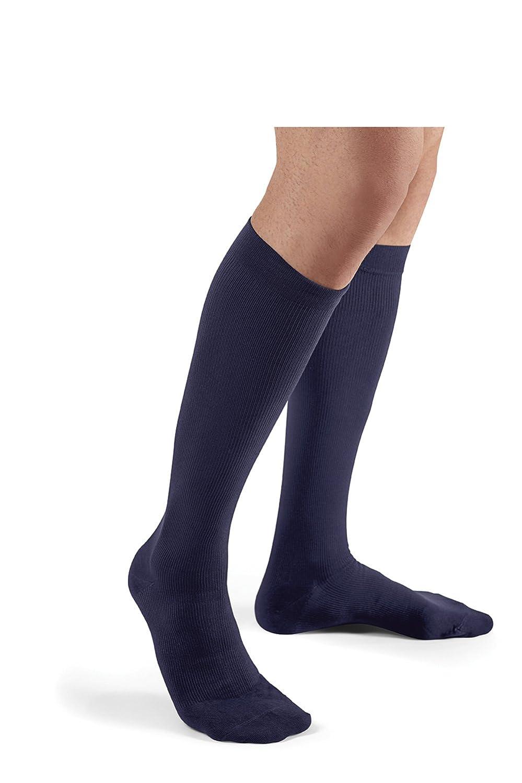 Futuro Restoring Dress Socks for Men, Large, Black, Firm Compression 71036BLEN