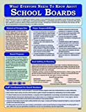 What Everyone Needs to Know about School Boards, Lerer, Richard and Cicchelli, Jerry, 1934032972