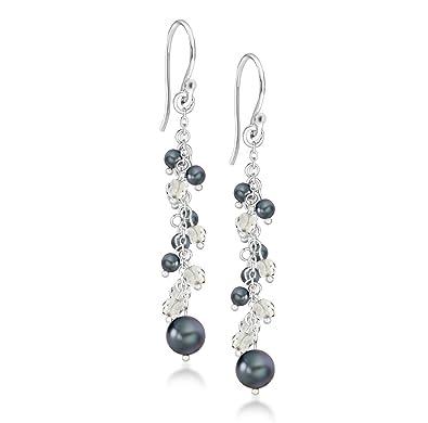 Tuscany Silver Sterling Silver Twist Spoon Drop Earrings SdcRSl