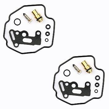 2x Kit Reparación Carburador Aguja del flotador Getor CAB-Y33: Amazon.es: Coche y moto