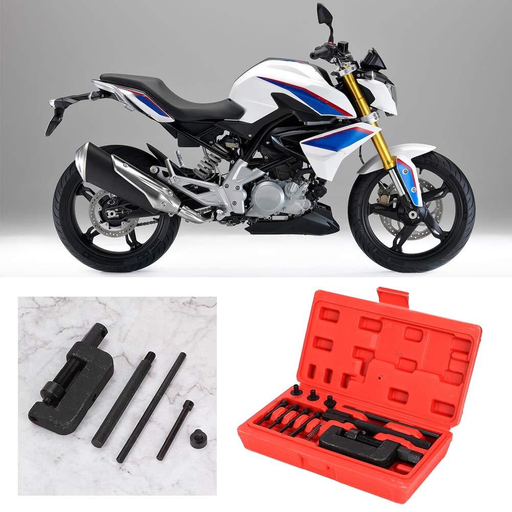 remachador enlace motocicleta conjunto de herramientas de reparaci/ón de remachado bicicleta divisor Interruptor de cadena interruptor de cadena