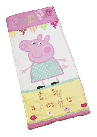 Character World Peppa Pig Cupcake - Saco de dormir, diseño de Peppa Pig: Amazon.es: Hogar