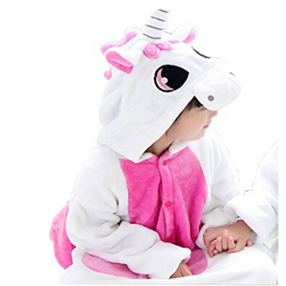 JXUFUFOO Kids Pajamas Onesie Cosplay Costume Lovely Cat Unicorn