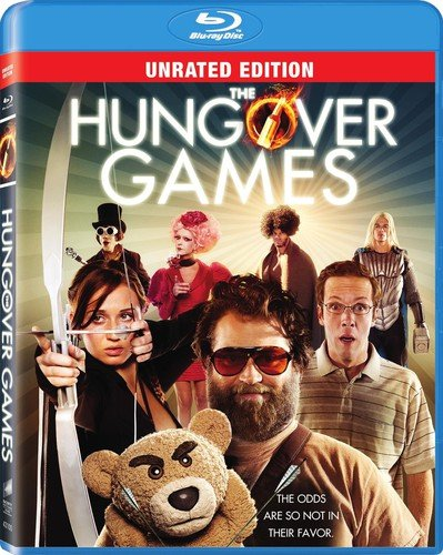 Blu-ray : The Hungover Games (Dolby, , Unrated Version, Widescreen)