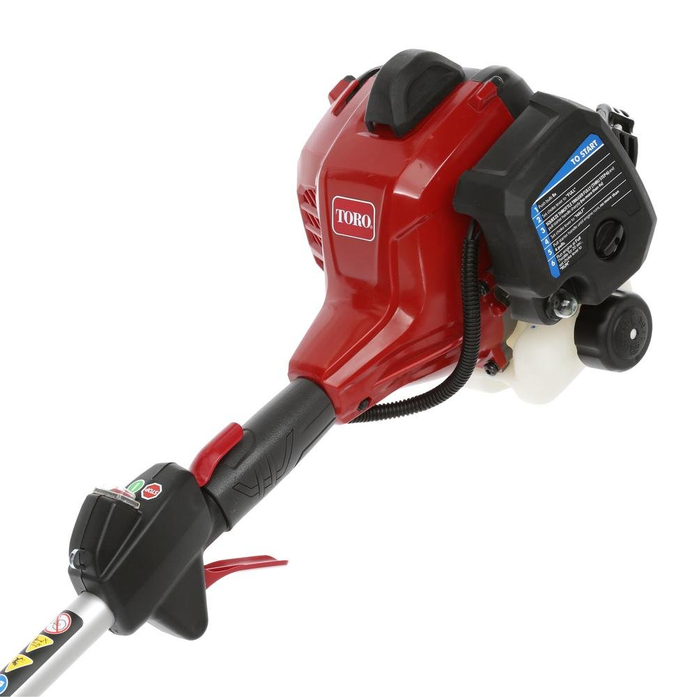 Toro 2-Cycle 25, 4 cc Gas comercial recto eje String Trimmer ...