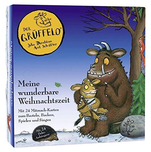 Der Grüffelo - Meine wunderbare Weihnachtszeit: 24 Mitmachkarten zum Basteln, Backen und Singen
