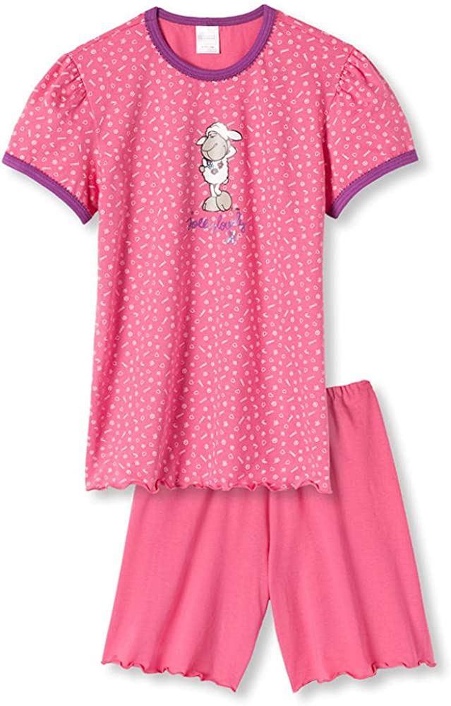 Pink Jolly Gr 116 Schiesser Schlafanzug Shorty 2tlg