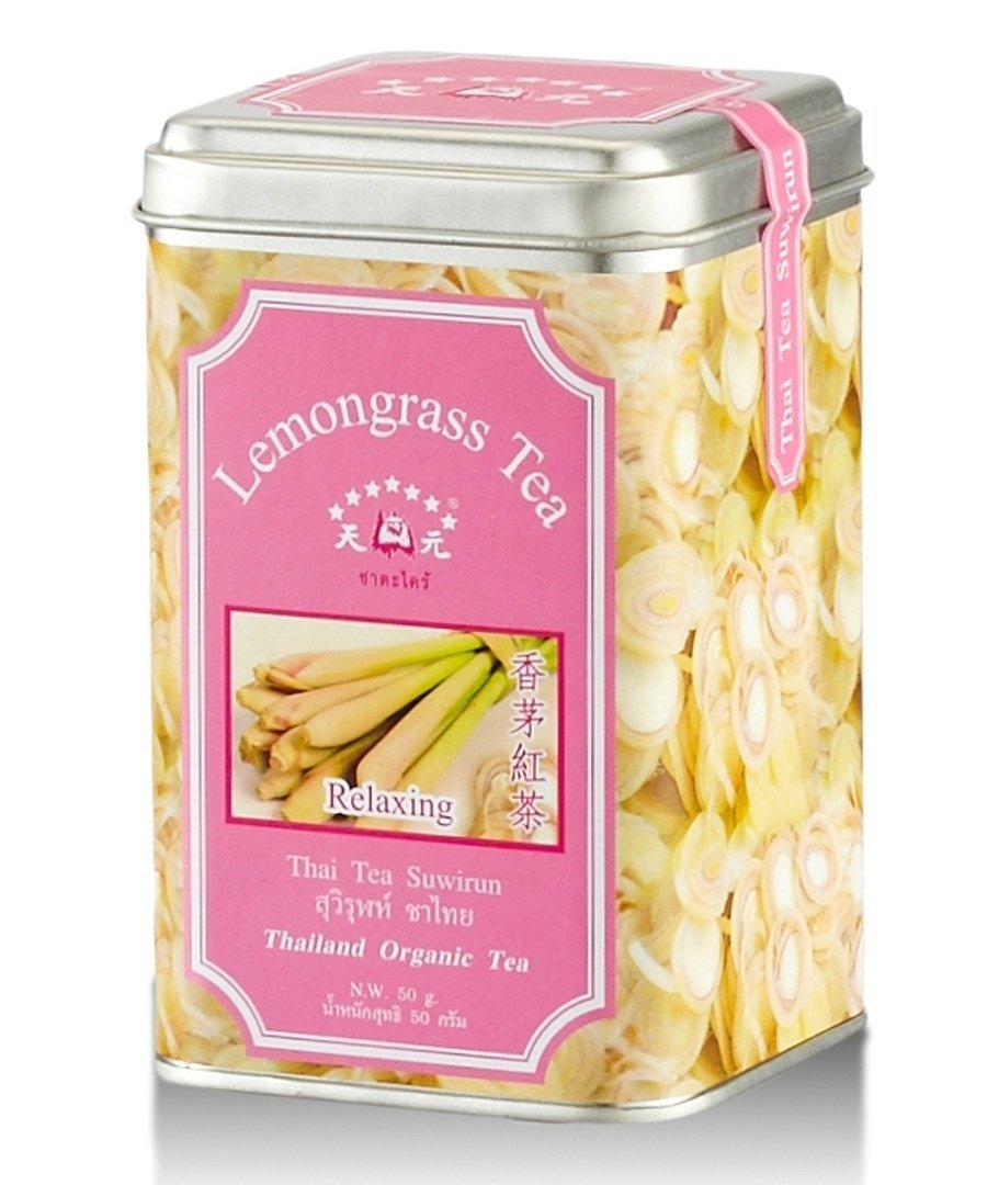 Thai Tea Suwirun ,Lemongrass Tea Organic Product Of Thailand. by SMILE LANNA SHOP