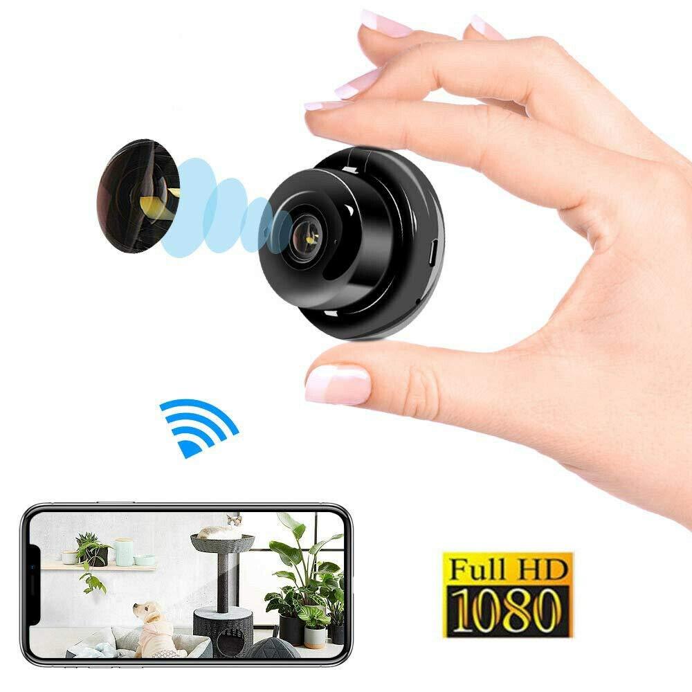 Mini Spy Camera Wireless Wifi IP Night Vision HD 1080P Security Camcorder DV DVR