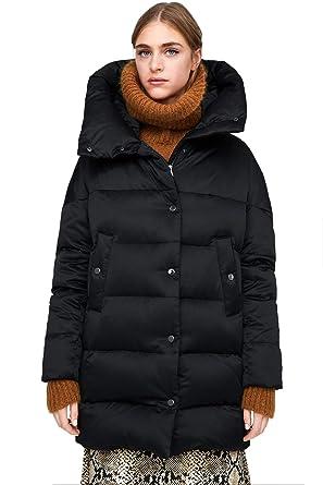 81f1705899f Women's Plus Size Winter Warm Long Thick Down Hooded Parka Maxi Coat  Cardigan Zip Jacket Top