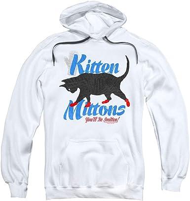 Its Always Sunny in Philadelphia Mens Kitten Mittons Pullover Hoodie