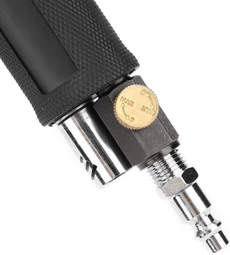 Pneumatische 90 /° -Poliermaschine f/ür Hardware Kunststoffe 16000 U // min 90psi // 6,2 Bar Mini Luftwinkelschleifer Lackiermittel mit 2 Zoll Schleifkissen M/öbel