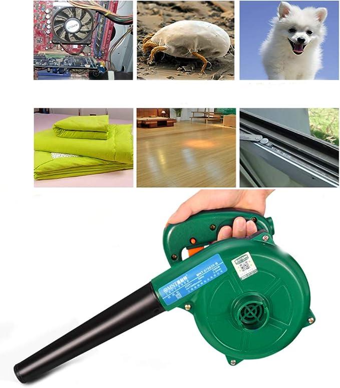 MAQRLT Filtro de Aire comprimido para PC, de Alta Potencia de Aire comprimido PC Cleaner Eliminación de Polvo Uso Industrial pequeño Golpe Potente succión de Mano del Ventilador Secador de Pelo: Amazon.es: