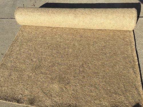 Amazon Com Biodegradable Hemp Mulch Mat 36 X 20 Roll Garden Outdoor