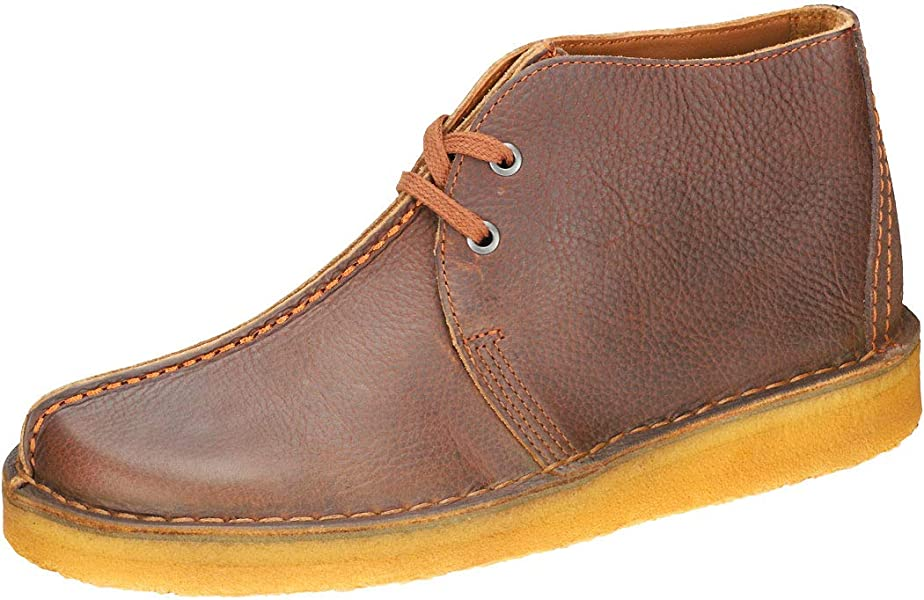 702f0f8d610e Clarks Originals Desert Trek Hi Mens Chukka Boots in Cola - 7 UK