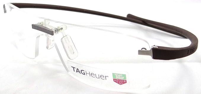 Amazon.com: Tag Heuer Panorama Reflex Rx Eyeglasses Frames Th 3503 ...