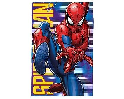 new style c5abb 0b1ed Kids MV15460 Spiderman coperta polare 150 x 100 cm, Multicolore
