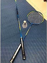 Lixada 1 Pair Badminton Rackets with Balls 2 Player Badminton Set Carbon Badminton Racquet Premium Quality Pro