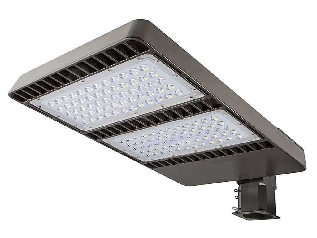 LED Parking Lot Light 200W, UL listed Driver AC85-265V Shoe Box Lighting 22000lm Day Light 5000K CCT, ETL DLC Qualified, IP65 Waterproof for Area Lighting and Street Lighting