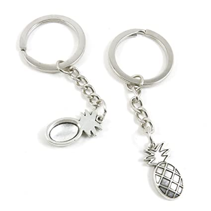 Amazon.com   20 Pieces Fashion Jewelry Keyring Keychain Door Car Key Tag  Ring Chain Supplier Supply Wholesale Bulk Lots Z7BC2 Pineapple   Office  Products 7928ac4fa978