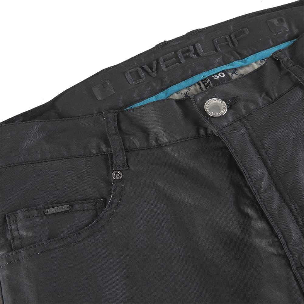 Jeans da Uomo Taglia 31 Nero OVERLAP Street Night