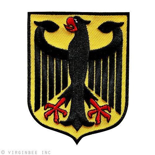 Deutschland Coat (BEST GERMAN EAGLE COAT OF ARMS GERMANY BUNDESADLER DEUTSCHLAND PATCH SIZE M)