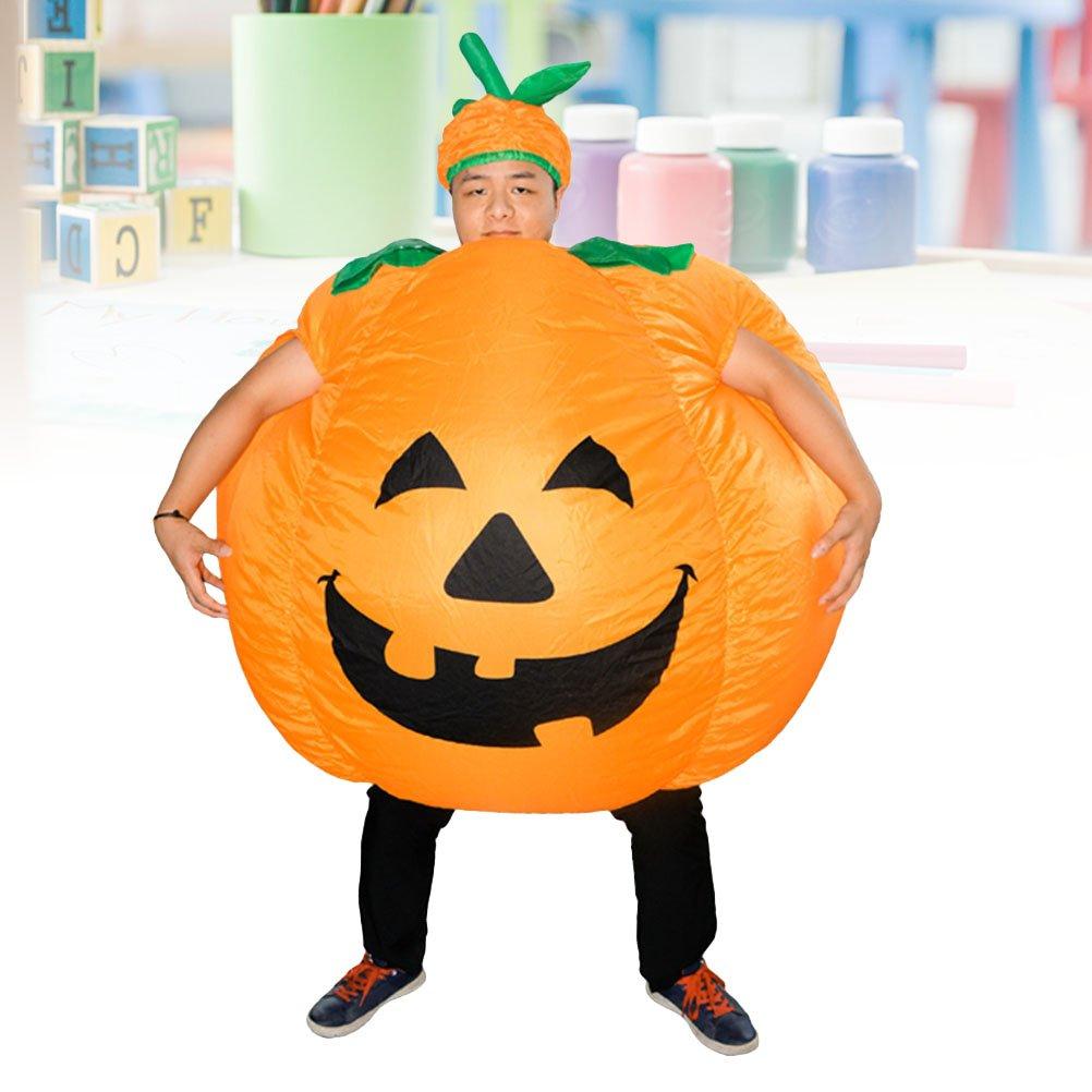 BESTOYARD Disfraz de Calabaza de Halloween para Adultos ...