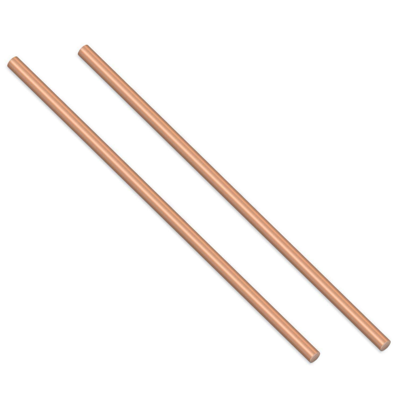 Sutemribor Brass Solid Round Rod Lathe Bar Stock 1//8 Inch in Diameter 14...