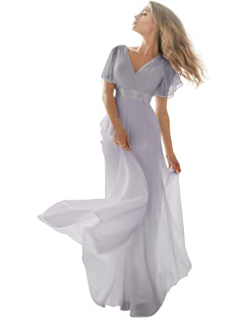 ebb0c24f9a0 Ever-Pretty Women s Short Sleeve V-Neck Long Evening Dress 09890