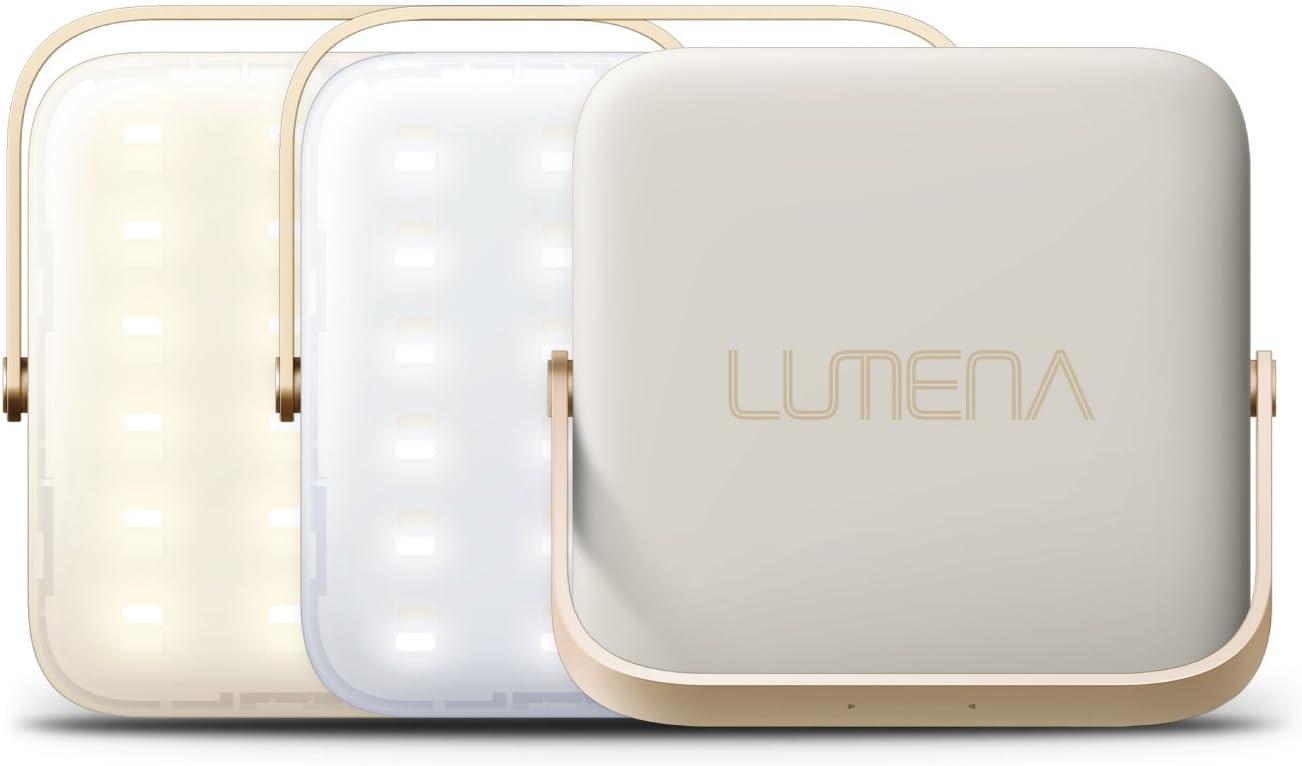 NNINE LUMENA(ルーメナー)7 LEDランタン ベージュ