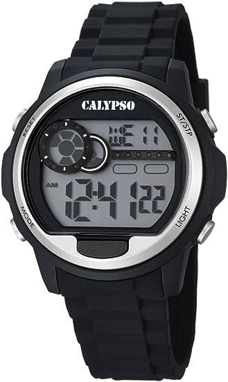 Calypso Watches Reloj Digital para Unisex de Cuarzo con Correa en Caucho K5667_1