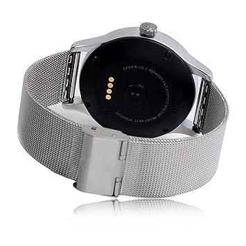 Amazon.com: SmartWild K88H Smart Watch 1.22 Inch IPS Round ...