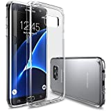 Galaxy S7 Edge Case, DN-TECHNOLOGY® [FUSION] Crystal Clear PC Back TPU Bumper [Drop Protection/Shock Absorption Technology] For Samsung Galaxy S7 Edge [Compatible With Galaxy S7 Edge Screen Protector]