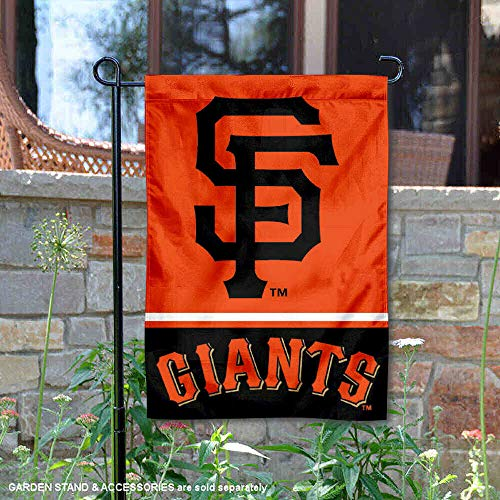 - WinCraft San Francisco Giants Double Sided Garden Flag