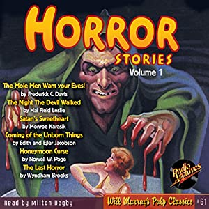 Horror Stories, Volume 1 Audiobook