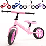 Kiddo 2016 PInk Kids Childrens Metal Training Balance Bike Suitable For 2 to 5 Years - New (Pink)