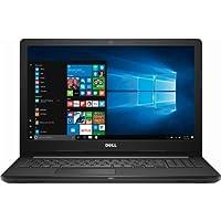 """Dell 15.6"""" Laptop, 7th Gen. AMD Dual-Core A6 Processor 2.50GHz, 4GB RAM, 500GB HDD, AMD Radeon R4 Graphics, DVD-RW, Bluetooth, HDMI, Webcam, Windows 10"""